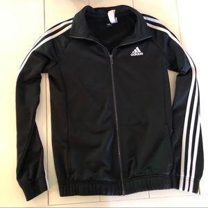 Like new Adidas Striped Black Jacket Track Jacket